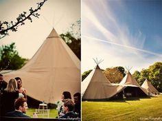 Wedding Tipis / Wedding Style Inspiration / LANE