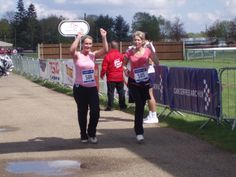 Race for Life coming across finish line