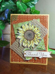 Stamp This!: Say Thank You With A Flower