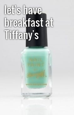 BARRY M Mint Green Nail Paint - Love