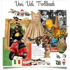 Collage for the Trollbeads World Tour Italy #TrollbeadsWorldTour