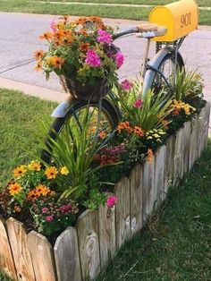 Today gardening was my out door therapy. I had a marvelous time planting flowers! Garden Yard Ideas, Garden Planters, Garden Projects, Garden Whimsy, Garden Art, Garden Design, Garden Front Of House, Amazing Gardens, Backyard Landscaping