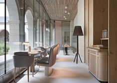 Agence Jouin Manku transforms Saint-Lazare priory into a modern hotel and restaurant.