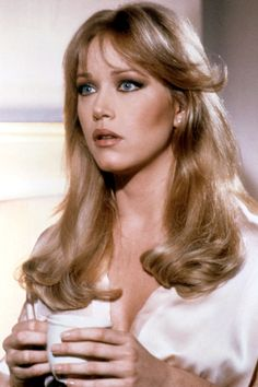 1985, A View To a Kill, Tanya Roberts as Stacey Sutton   - HarpersBAZAAR.com