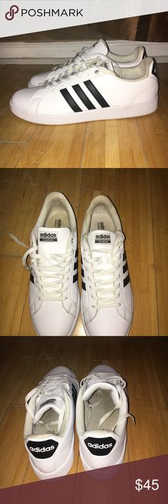 Adidas Stan smith style tennis 🎾 sneakers Adidas Stan smith style tennis 🎾 sneakers  worn twice like new 11.5 adidas Shoes Sneakers
