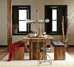 Esstisch Sitzbank Holzpaletten Möbel