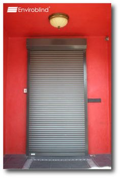 Roll Down Security Shutter As Room Dividers? Noise Control In Addition To  Privacy And Light