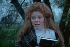 Anne is inquiring for news about Gilbert in The Sequel. (Anne of Green Gables) he has scarlet fever. She brings him her book dedicated to him. I get goosebumps typing this.