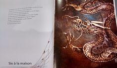 Toile de dragon est un album écrit par Muriel Zürcher et Lan Qu, publié chez Philippe Picquier.