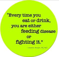 This is very true...  http://HealthandWellnessDigest.com