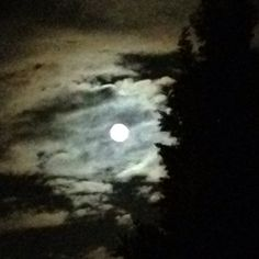 Moon & clouds<3