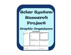 Have students research astronomical objects in the Solar system- a great introduction to an astronomy unit or review... Students can then become the teachers and present their information to the rest of the class!  I always get a cart of books from the library to use and let them search some internet sites...Included is also a chart for all students to record basic information about the objects and the answer key.