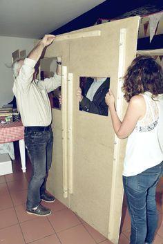 photobooth cadre polaro d pour mariage et 3 accessoires par crea graphic artistes et createurs. Black Bedroom Furniture Sets. Home Design Ideas