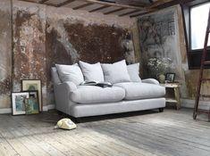 Sofa Workshop, Comfy Joe medium sofa in Urban Marmore