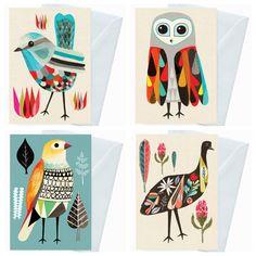 birds at inaluxe Bird Illustration, Grafik Design, Watercolor Art, Watercolor Portraits, Watercolor Landscape, Watercolor Flowers, Art Plastique, Bird Art, Art Boards