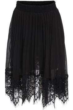 Shop Black Elastic Waist Pleated Lace Skirt online. SheIn offers Black Elastic Waist Pleated Lace Skirt & more to fit your fashionable needs.