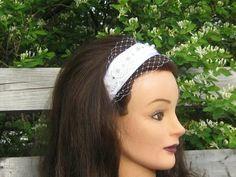 Bridal headband Diy Headband, Bridal, Fashion, Moda, Fashion Styles, Fashion Illustrations, Bride, The Bride, Handmade Headbands