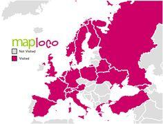 European Countries I've Been To Montenegro, Malta, Monaco, Ukraine, Georgia, Portugal, City State, European Countries, France