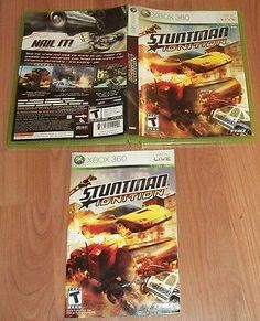STUNTMAN IGNITION XBOX 360 VIDEO GAME CASE & MANUAL - http://video-games.goshoppins.com/video-gaming-merchandise/stuntman-ignition-xbox-360-video-game-case-manual/