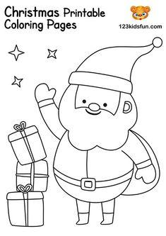 laughing santa coloring pages  santa coloring pages christmas coloring sheets free christmas