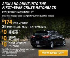 2017 Chevrolet Cruze at Chevrolet Cadillac of Santa Fe. www.chevroletofsantafe.com