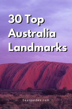 This Australia travel guide covers 30 of the most amazing Australia landmarks, such as the Sydney Opera House, the Great Barrier Reef, Uluru Rock, and more! Click through for more details. | Australia travel beautiful places bucket lists | Australia travel bucket lists | visiting Australia travel tips | Australia travel destinations | what to do in Australia | best things to do in Australia | Australia bucket List | #australia #travel #travelguide #bucketlist Coast Australia, Visit Australia, Australia Trip, New Zealand Itinerary, New Zealand Travel, Travel Advice, Travel Tips, Travel Destinations, Travel Guides