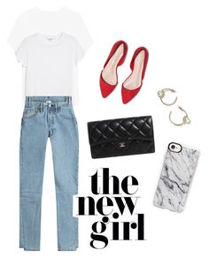 Untitled #6 by aqiilanf on Polyvore featuring Monki, Vetements, Chanel, Topshop and Casetify