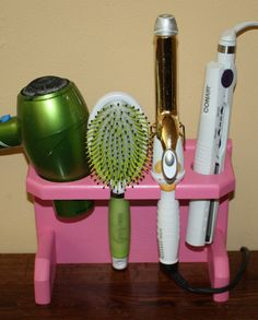 Hey, I found this really awesome Etsy listing at https://www.etsy.com/listing/198343796/pink-dorm-room-storage-hair-dryer-shelf