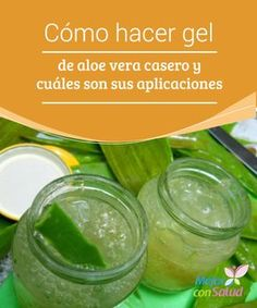 Homemade aloe vera gel, learn how to make and get your benefits … - Beauty World Best Beauty Tips, Diy Beauty, Beauty Hacks, Beauty Advice, Beauty Secrets, Beauty Care, Aloe Vera Piel, Aloe Vera Hair Growth, Aleo Vera