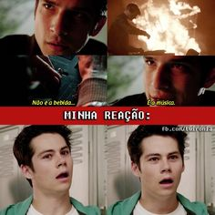 Teen Wolf Stiles, Teen Wolf Scott, Teen Wolf Dylan, Dylan O'brien, Teen Wolf Memes, Teen Wolf Tumblr, Teen Wolf Funny, Cenas Teen Wolf, Meninos Teen Wolf