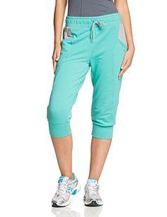 Puma Pantalon de sport pour fille S Turquoise - Pool Green-Limestone Gray.  Femmes Athlétiques eede4d19ef0