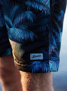Palm leaf swim trunks - Bather Resort 2016
