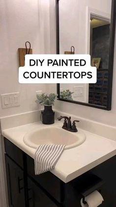 Cheap Bathroom Makeover, Cheap Bathroom Remodel, Cheap Bathrooms, Upstairs Bathrooms, Bathroom Renovations, Master Bathroom, Easy Bathroom Updates, Budget Bathroom Makeovers, Home Renovations