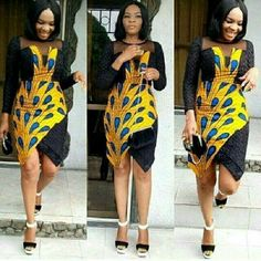 The complete pictures of latest ankara short gown styles of 2018 you've been searching for. These short ankara gown styles of 2018 are beautiful Latest Ankara Short Gown, Ankara Short Gown Styles, Trendy Ankara Styles, Kente Styles, Short Gowns, African Dresses For Women, African Print Dresses, African Attire, African Wear