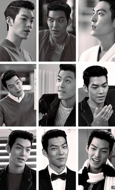 "Kim Woo Bin ♡ #Kdrama - ""HEIRS"" / ""THE INHERITORS"" why are the mean ones always the better looking ones?lol"