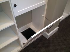 small closet with laundry chute drawer - for the master bedroom