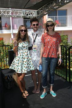 Henry Holland Eyewear Pool Party Harley Viera Newton, Henry Holland and Agyness Deyn all in House of Holland Eyewear - Coachella 2013 Coachella 2013, Coachella Festival, Cute Pineapple, Pineapple Print, Henry Holland, Agyness Deyn, Fashion Gallery, Party Photos, Alexa Chung