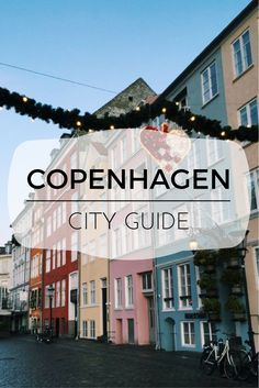 A cool coastal city filled with classic and modern design, great food, and even better people Europe Travel Tips, European Travel, Travel Advice, Places To Travel, Travel Hacks, Travel Guides, Copenhagen City, Copenhagen Travel, Copenhagen Denmark