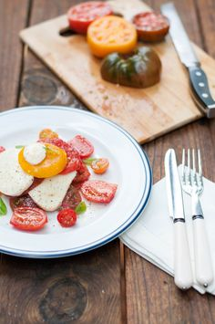 Summer recipe: Heirloom tomato salad by New South Food Company