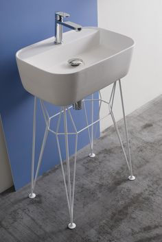 CONTEMPORARY STYLE #CERAMIC #WASHBASIN GUS GUS COLLECTION BY @extdesign    #DESIGN MICHAEL HILGERS