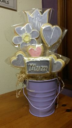 Mother's Day Cookie Pots