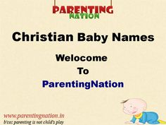 christian baby boy names and meanings pdf