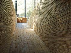 古い瓦をあしらった隈研吾デザインのミュージアム。|HANGZHOU | casabrutus.com