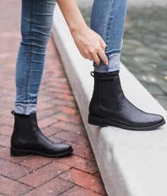 """f709c421f08 Thursday Boot Company on Instagram  """"A New Black for the Season. Meet the Black  Vegan Duchess  the Next Staple in our Vegan Collection."""