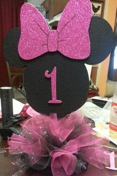 Minnie Mouse centerpiece