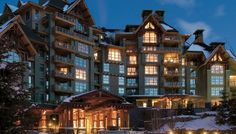 One of my favorite places on the planet, especially in December- Four Seasons - Whistler