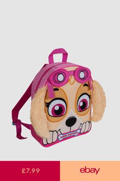Paw Patrol Skye Girls Backpack Back To School Student Travel Bag Kid  Accessories e05573c436414
