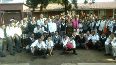 Lebohang Secondary school matriculants