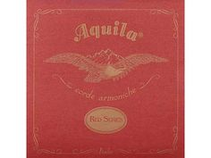 String Set for Concert Ukulele Red Series, Tuning: GCEA, Material: Nylgut with red copper powder Ukulele Accessories, Ukulele Strings, Tenor Ukulele, Red Color, Colour, Powder, Concert, Stability, Wrapping
