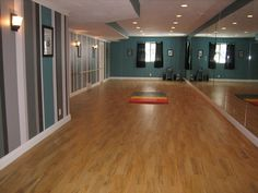 Needs to be bigger, but I LOVE the idea of a basement turned into a dance studio!! This is a must have!! :D